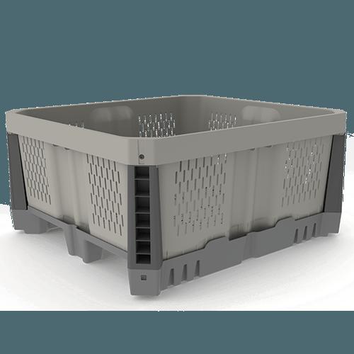 MacroPlastics Hybrid 44C - Cajones Agrícolas de Plástico para la Cosecha a California (CA), Kentucky (KY), Washington (WA), México y el Resto del Mundo