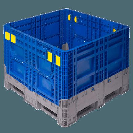 IsoBin - Cajones Agrícolas de Plástico para la Cosecha a California (CA), Kentucky (KY), Washington (WA), México y el Resto del Mundo