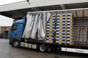 How can the EuroBin increase pack density in Inbound Journeys in the Automotive Supply Chain?