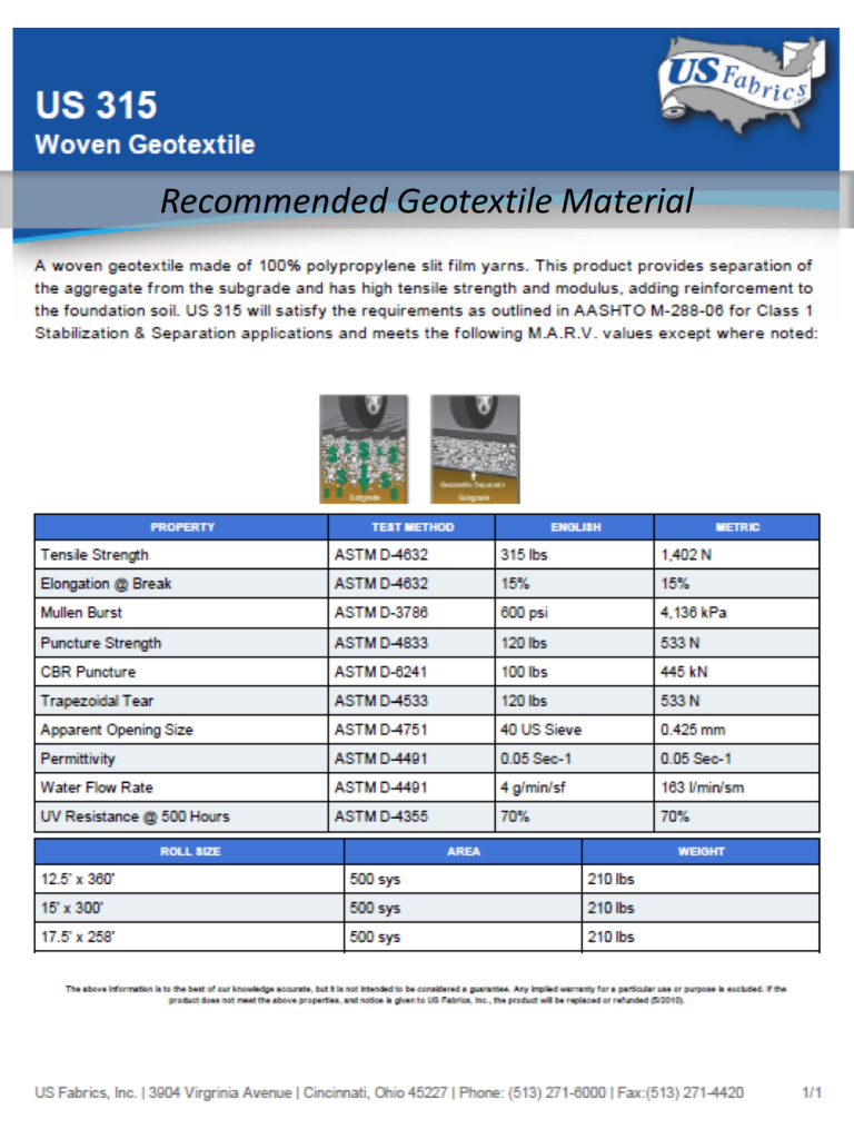 recommended-geotextile